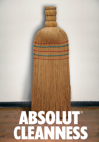 "Poster ""Absolut"""
