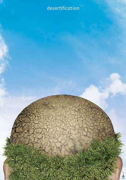"Плакат ""Desertification"""