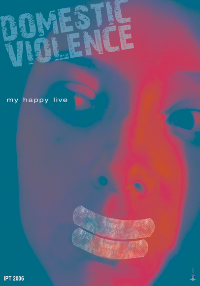 "Poster ""Domestic Violence"" 1"