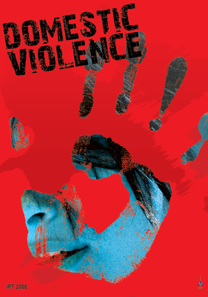 "Poster ""Domestic Violence"" 2"