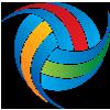 "Логотип ""Полицейски шампионат по волейбол"""