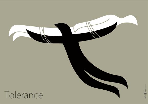 """Плакат """"Tolerance"""""""
